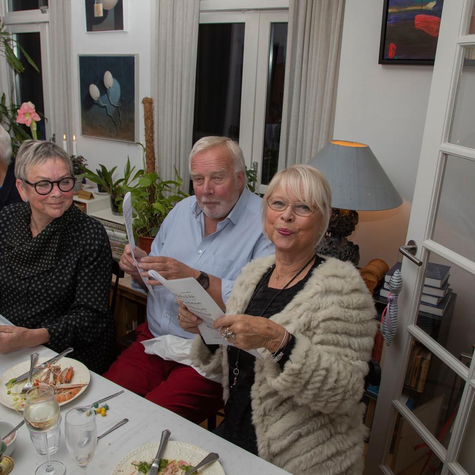 Inga-Lill og Karsten synger med