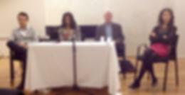 Kanene L. Weston, Daniel Lebidois, Première Tertulias CIUP 2014, la cité pour la paix, cité internationale universitaire de paris, maison du portugal ciup