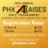 Registration 19th Annual Phx AISES Golf