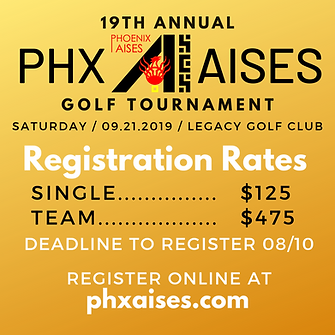 Registration 19th Annual Phx AISES Golf