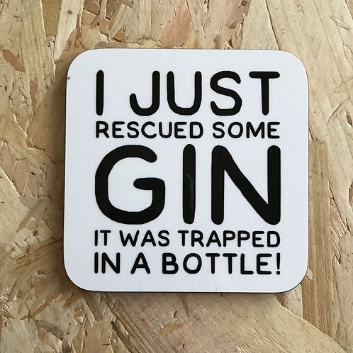 Rescued Some Gin
