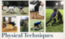 Physical Techniquesフィジカルテクニックセミナーの日程です。セミナーでは、スポーツパフォーマンスアップや怪我の予防につながる身体の使い方を指導します。普段指導しているラグビーを例に進めます。