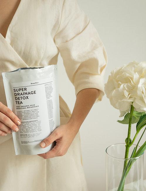 Детоксицирующий лимфодренажный чай против отёков, дряблости и воспалений