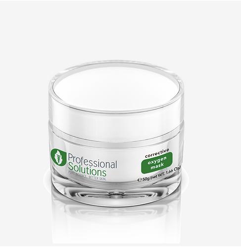 Оксигенирующая антистрессовая маска для реанимации безжизненной тусклой кожи