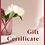 Thumbnail: Виртуальный подарочный сертификат на любую сумму с индивидуальным дизайном