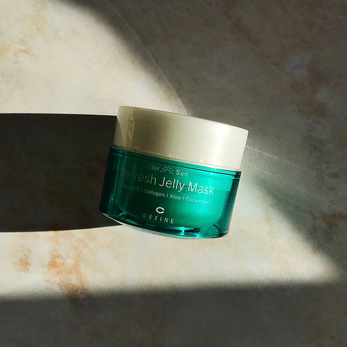 Успокаивающая маска-желе для восстановления повреждённой и воспалённой дермы