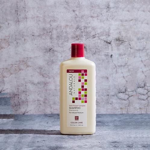 Защитный шампунь для объёма и мягкости сухих, повреждённых и окрашенных волос