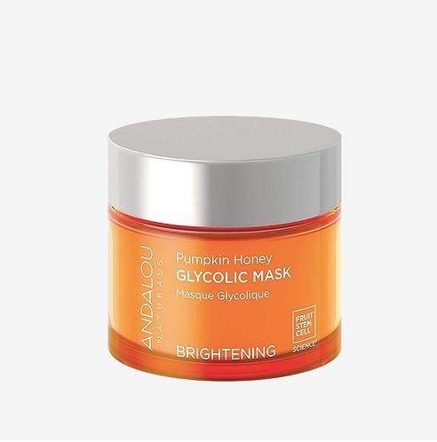 Энергизирующая гликолевая маска-эксфолиант для выравнивания тона и сияния кожи