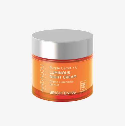 Осветляющий ночной крем с антиоксидантами для интенсивной ревитализации и защиты