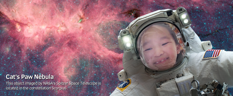 Seedlings World in Outer Space