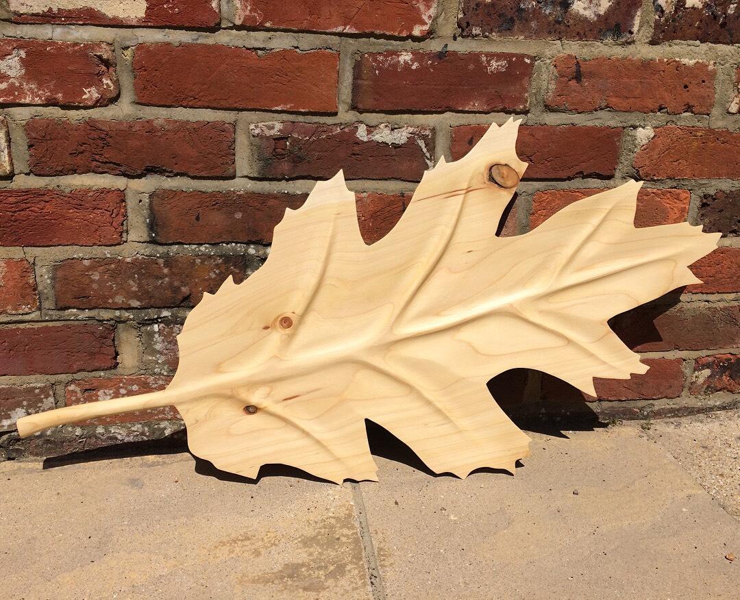 Turkish Oak leaf handcrafted from Leyaln