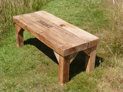 Fence post table