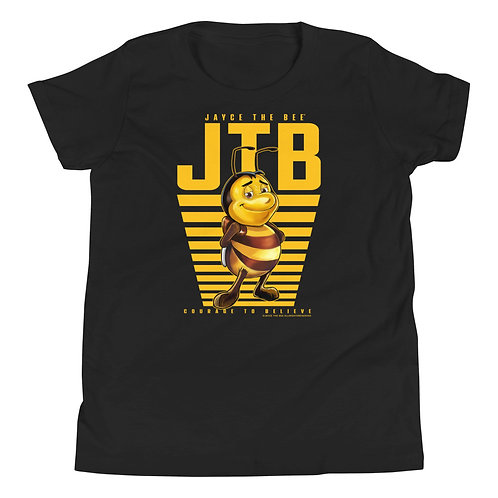 JAYCE THE BEE: Rise & Shine Youth Short Sleeve T-Shirt