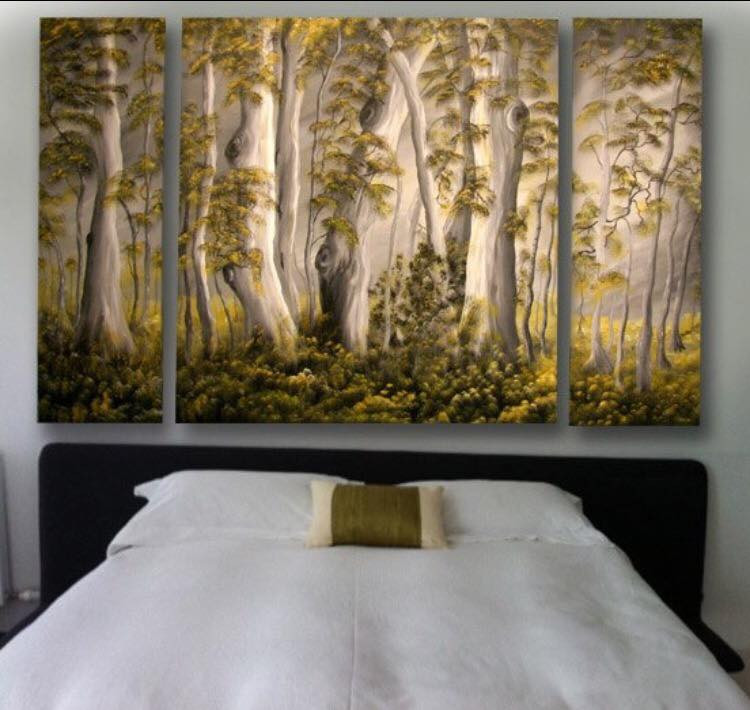 Bespoke paintings on canvas