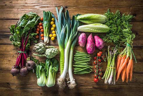 Local market fresh vegetable, garden pro