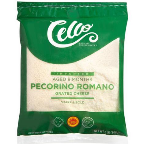 2 lb Pecorino Romano Grated