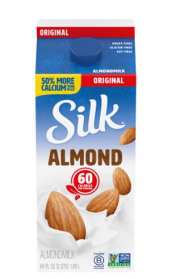 Almond Milk (1/2 gal)