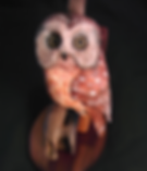 bird carving, George Hilton Creations, Saw Whet Owl