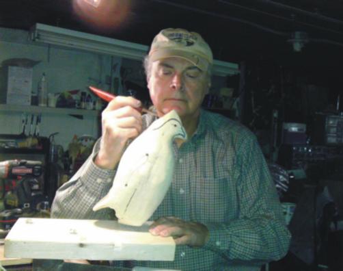 bird carver, George Hilton Creations, George Hilton