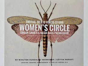 Einladung zum                              Women's Circle                     Freitag,30.08. 20-22h