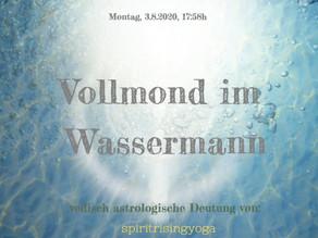 """Vollmond in Wassermann –                das """"Wir"""" und """"das kosmische Ohr"""""""