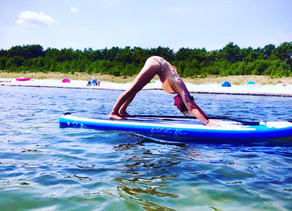 ☀️SOMMERSPECIAL☀️ :                             SUPYoga mit mir 🤩🌊🧘♀️🏄♀️