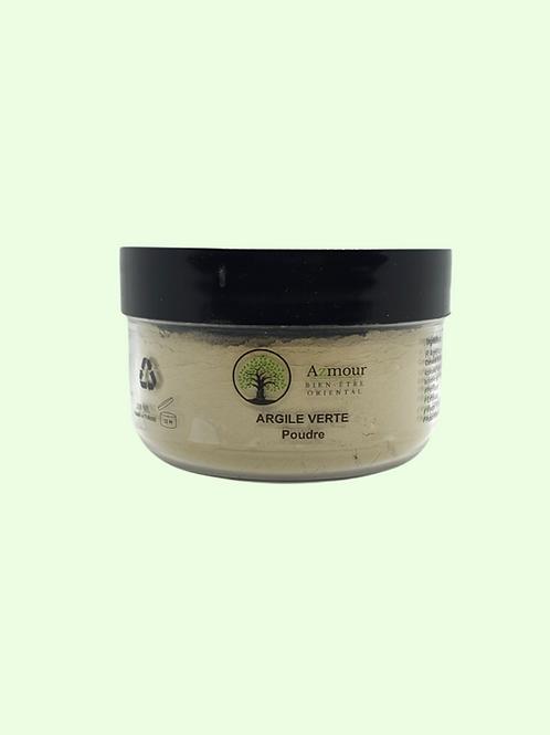 Poudre d'Argile Verte - Peaux normales ou grasses