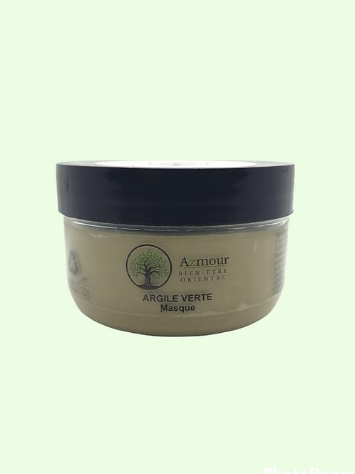 Masque d'Argile Verte - Peaux normales ou grasses