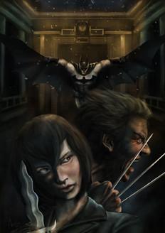Trese x Wolverine x Batman Crossover Commission