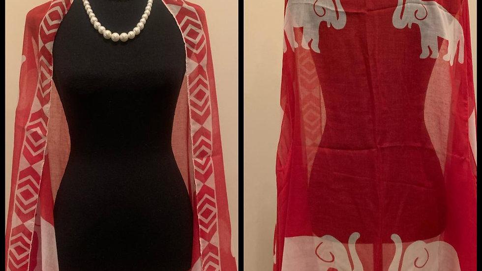 Red Elephant Light Cotton Vest