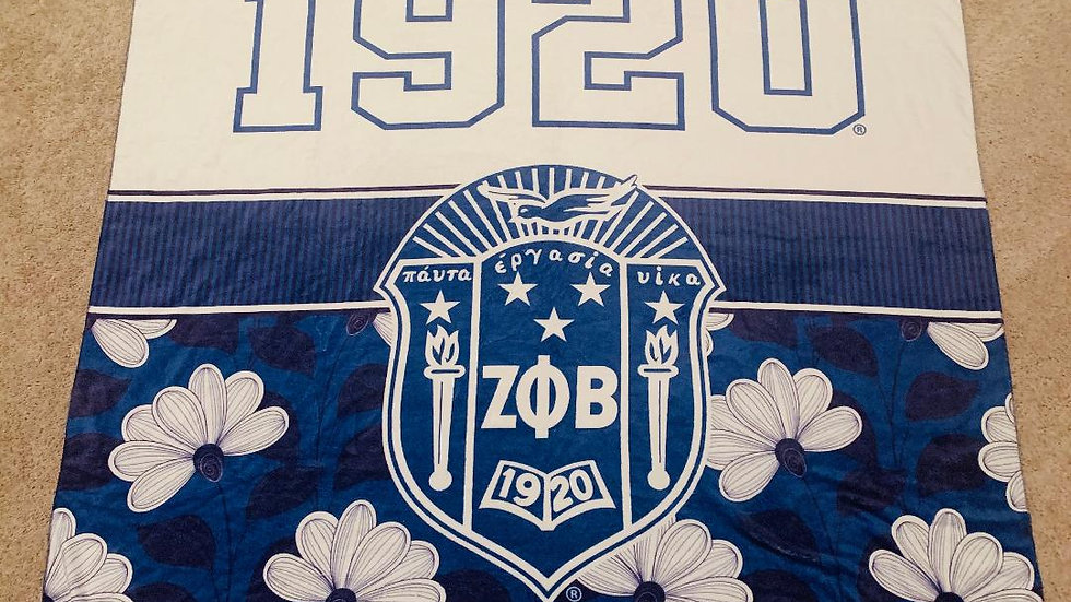 Zeta Phi BetaThrow Blanket