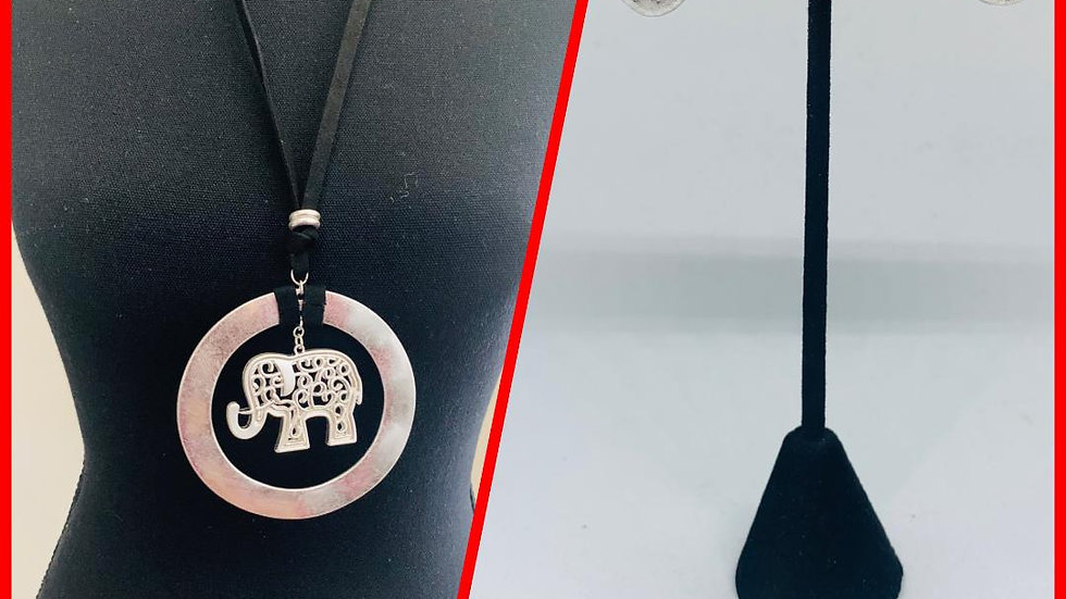 Elephant Necklace (L)