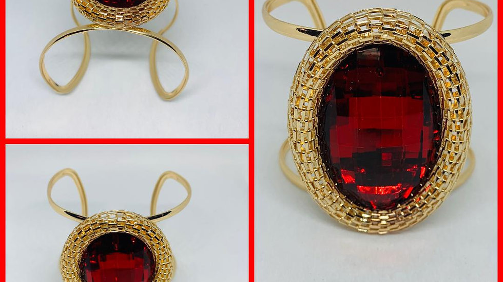 Red & Gold Bangle