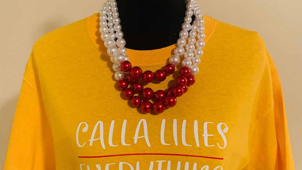 Calla Lilies over Everything Tee