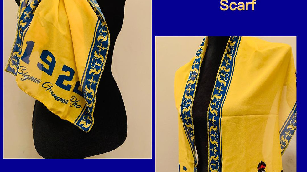 Sigma Gamma Rho Sorority, Inc. (Scarf)