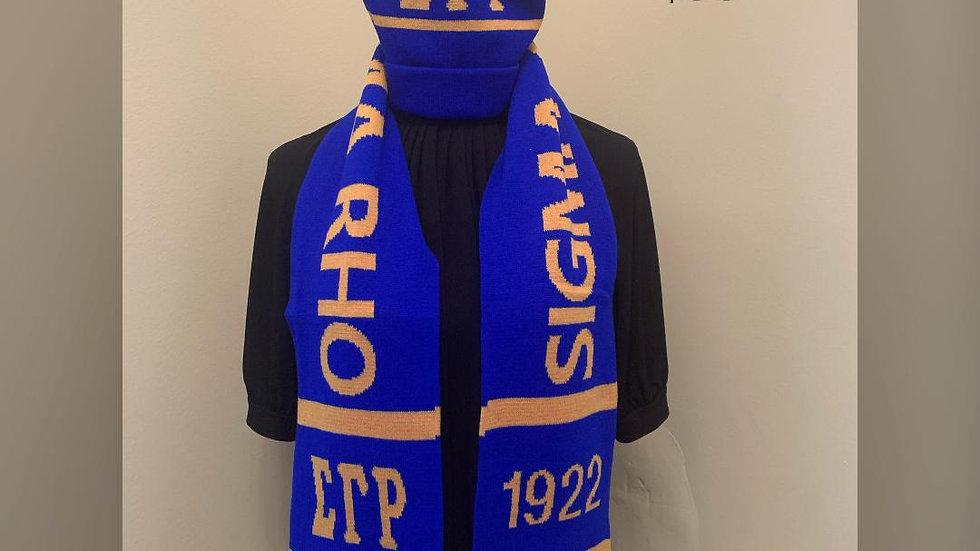 Sigma Gamma Rho Sorority, Inc. (hat & scarf set)