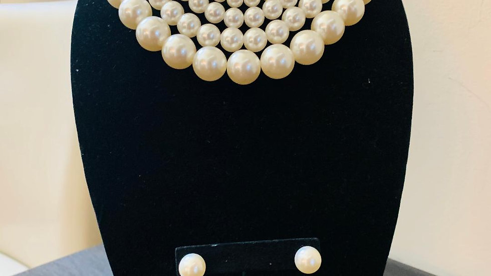 Four Strand Pearls