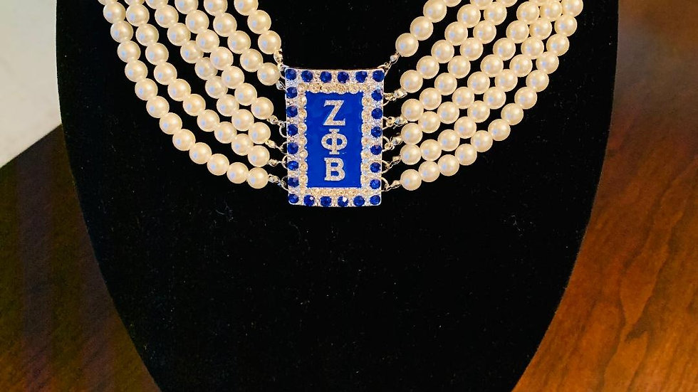 Pearl Necklace (Greek Letters)