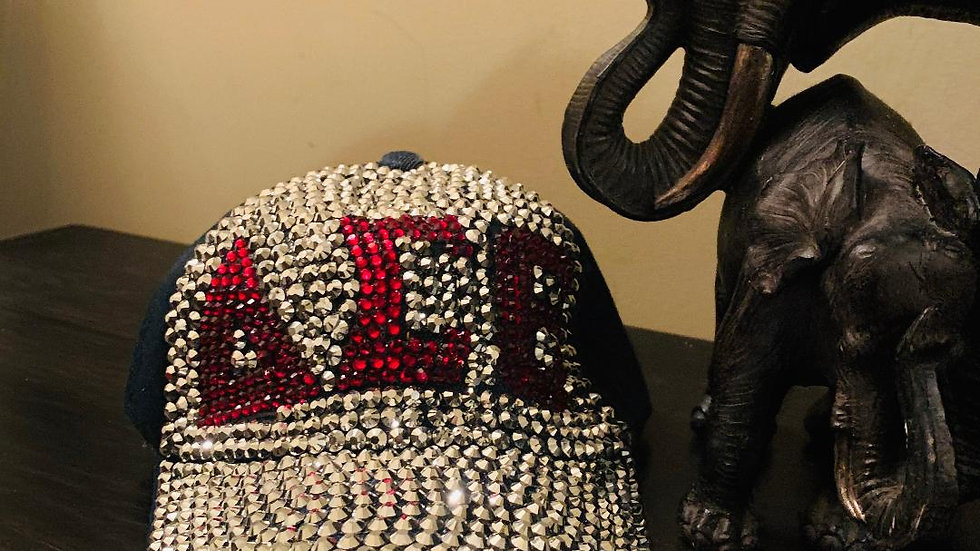 DST Bling Denim Cap