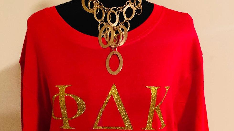 Greek Letter PDK Tee