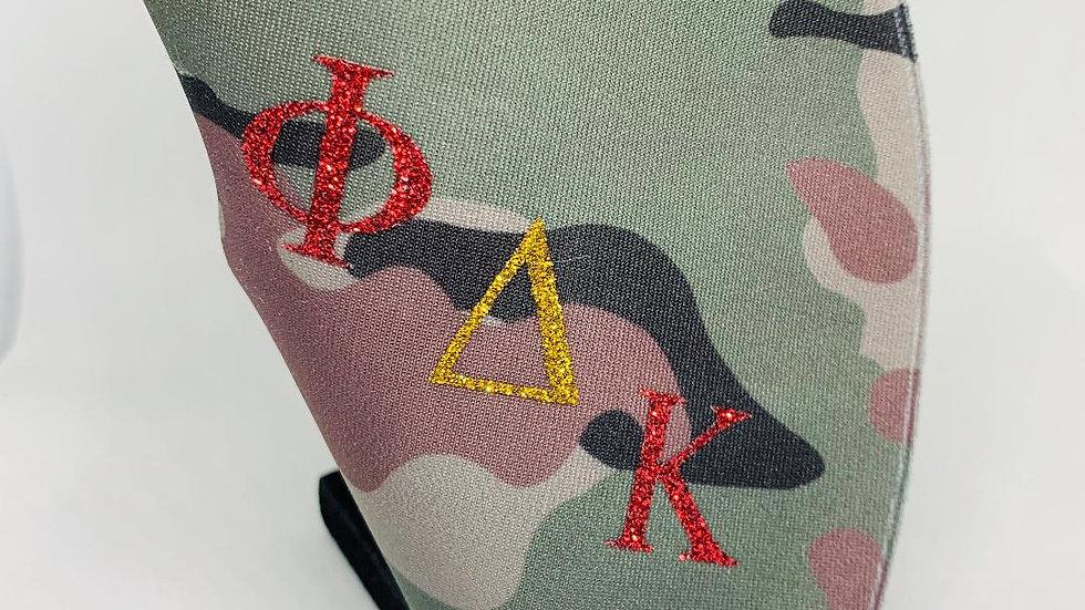 Phi Delta Kappa Camo Mask