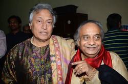 With Ustad Amjad Ali Khan