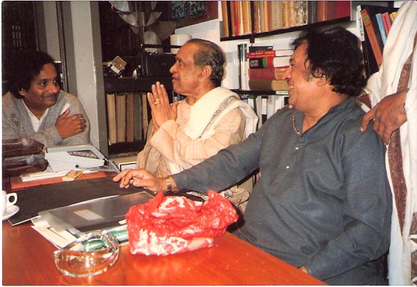 Pt Bhimsen Joshi, Ustad Sultan Khan