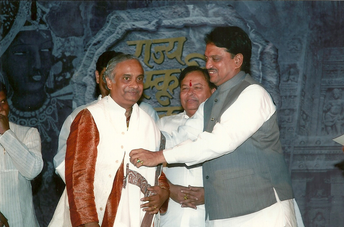 awarded by Shri Vilasrao Deshm