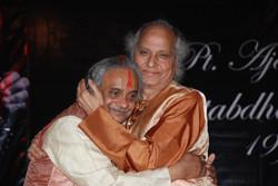With Pt. Jasraj