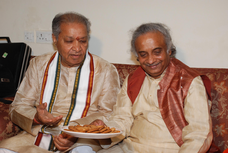 With Pt. Hariprasad Chaurasia