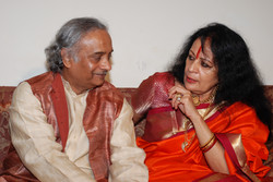 With Dr. Sonal Mansingh