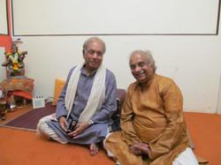 With Pt. Briju Maharaj ji