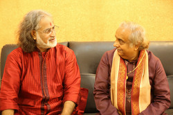 With Pt Vishwamohan Bhatt