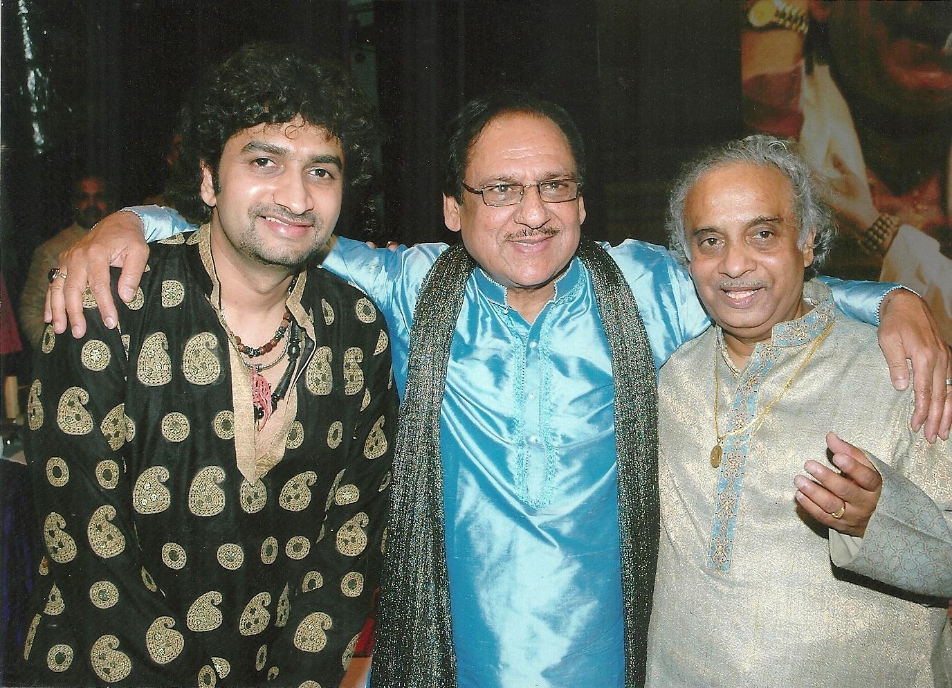 With Ustad Gulam Ali
